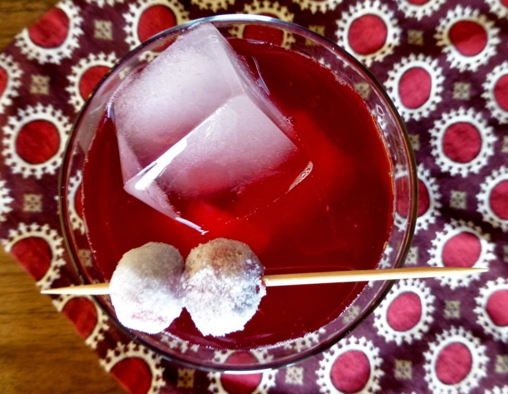 Candied Cranberry Cocktail - 1
