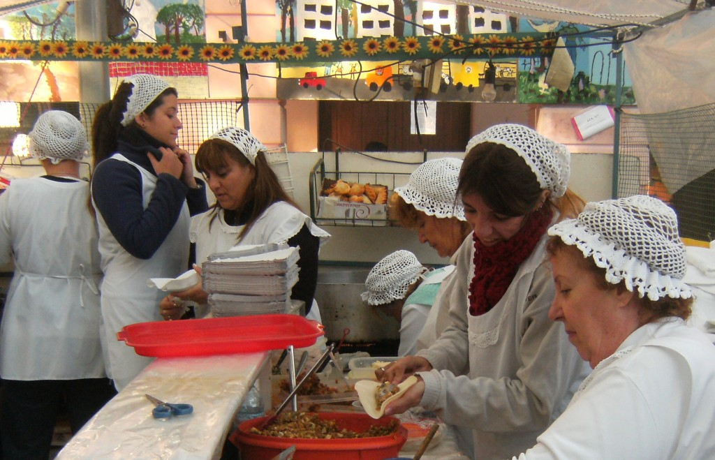 Feria de Mataderos Empanada Buenos Aires Argentina