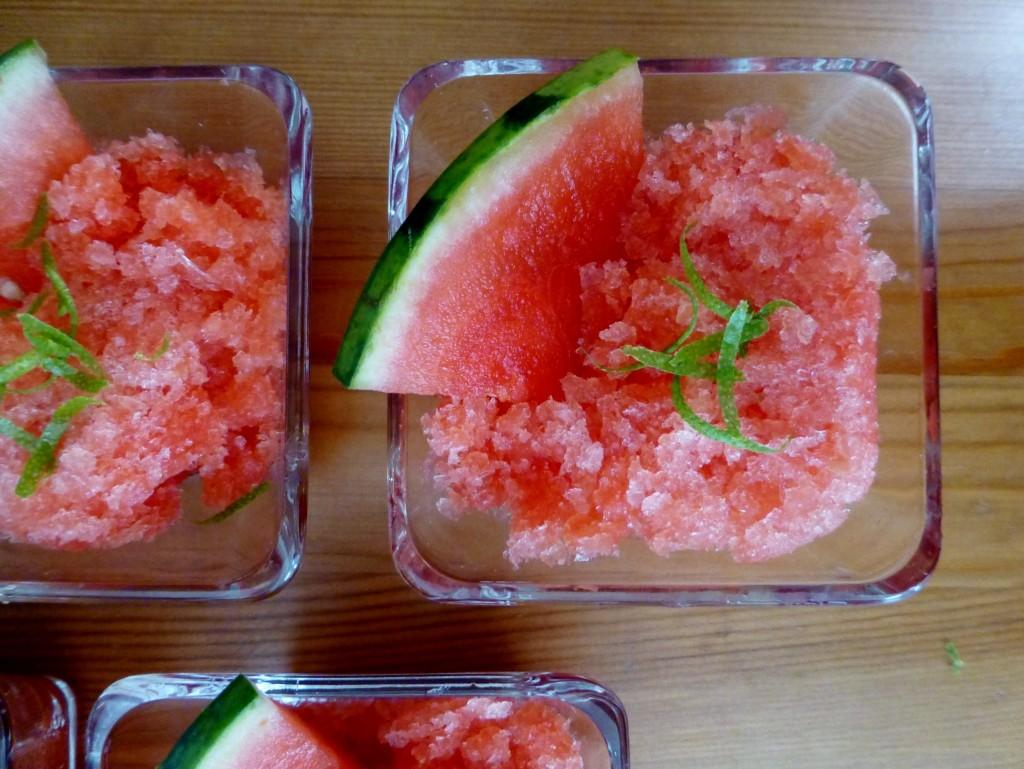 Watermelon Granita - 2