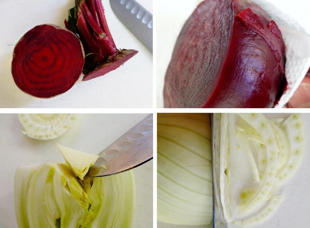 beet and fennel
