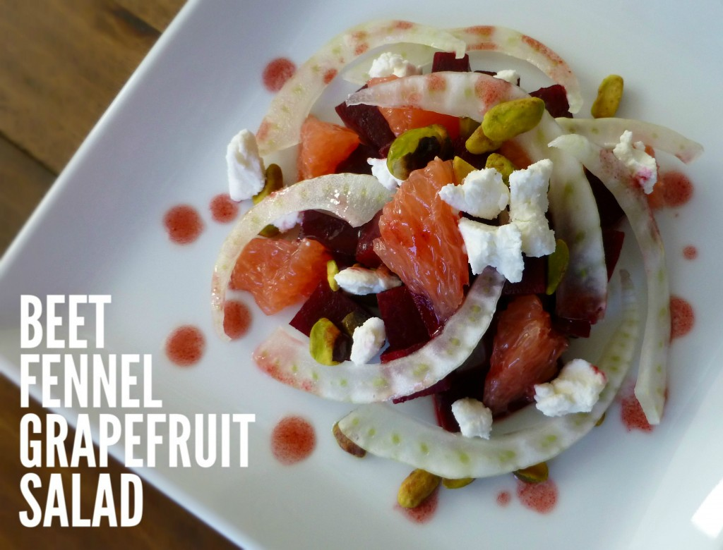 beet fennel grapefruit salad