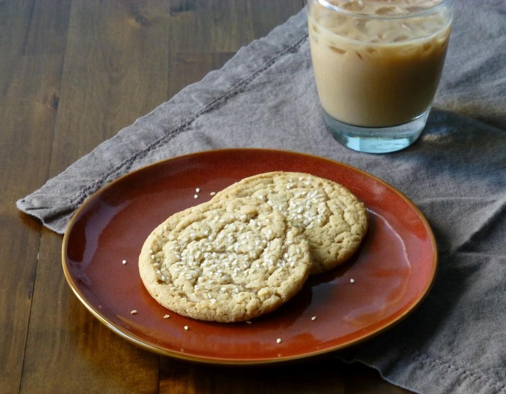 Sesame Butter Cookies - 5 (1024x798)